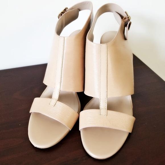 Leather Block Heel Sandals | Poshmark
